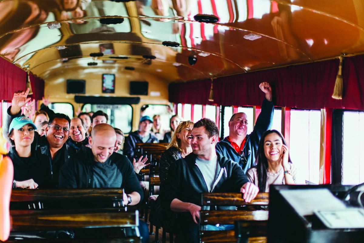 Funny Bus Comedy City Tour