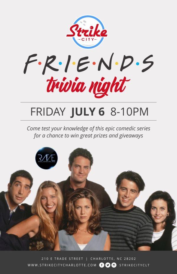 FRIENDS Trivia | Charlottes Got A Lot