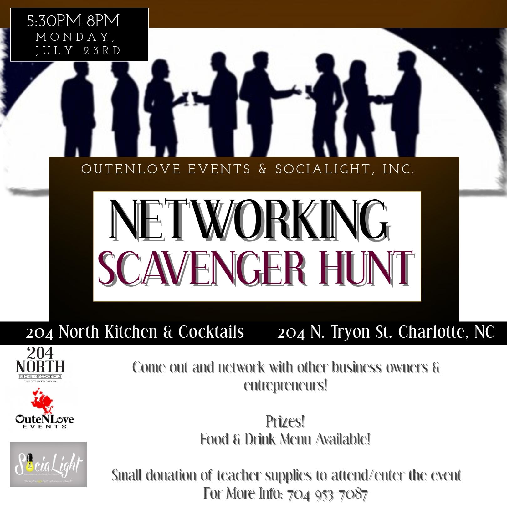 Networking Scavenger Hunt | Charlottes Got A Lot