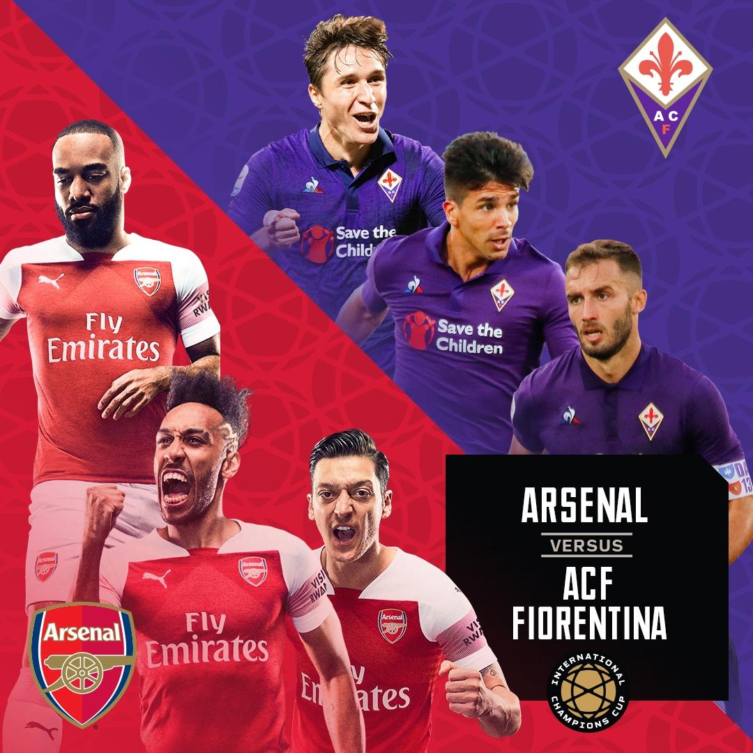 International Champions Cup: Arsenal v ACF Fiorentina