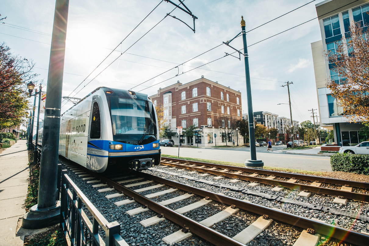 Things To Do On The Charlotte Light Rail