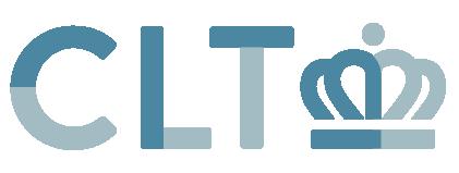 CLT horizontal blue Charlotte Logo CLT