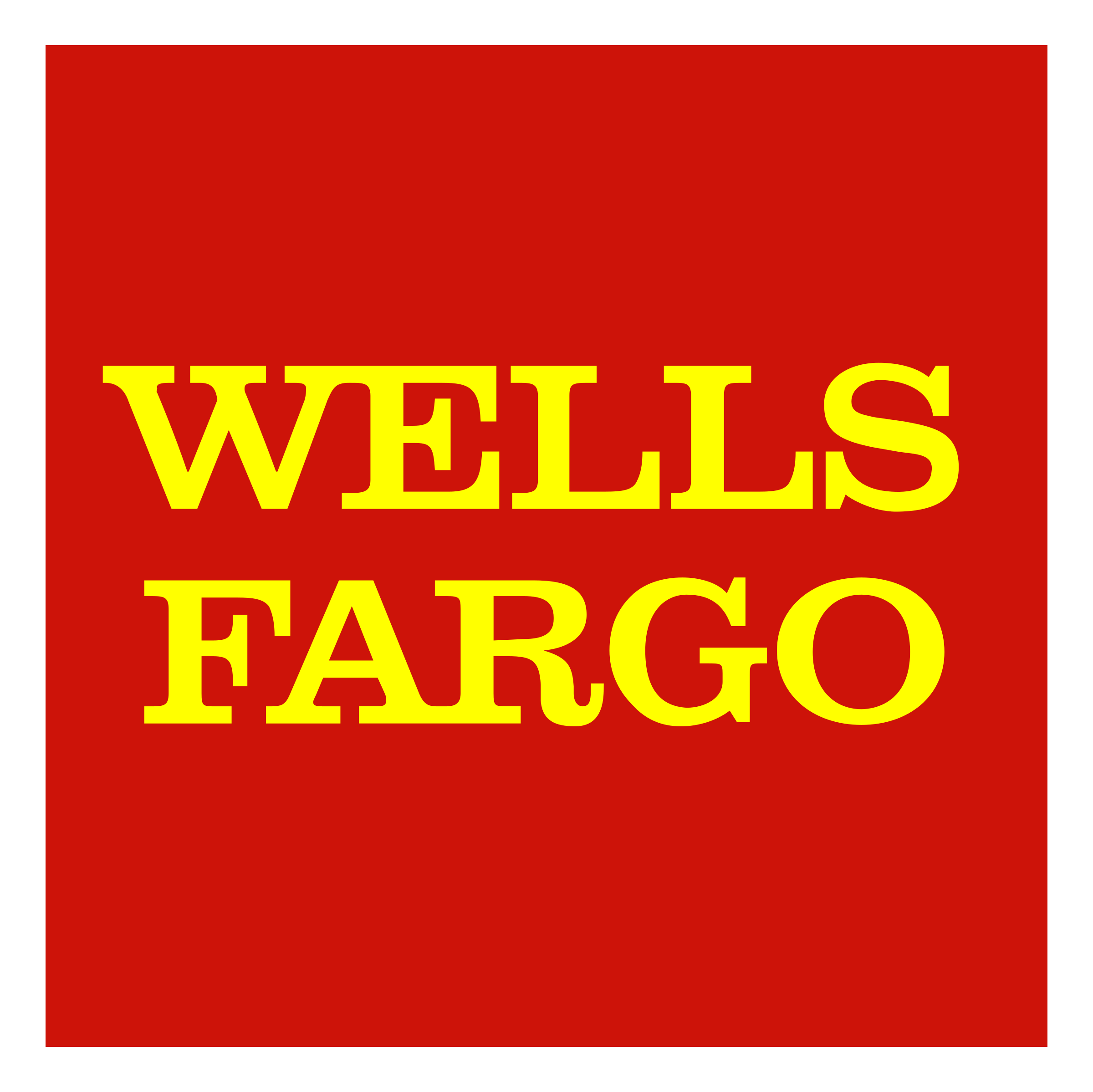 Wells fargo logo transparent
